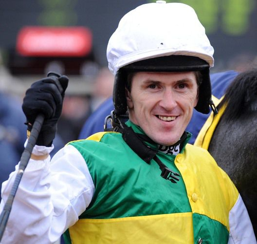 Tony McCoy rides at Leicester today