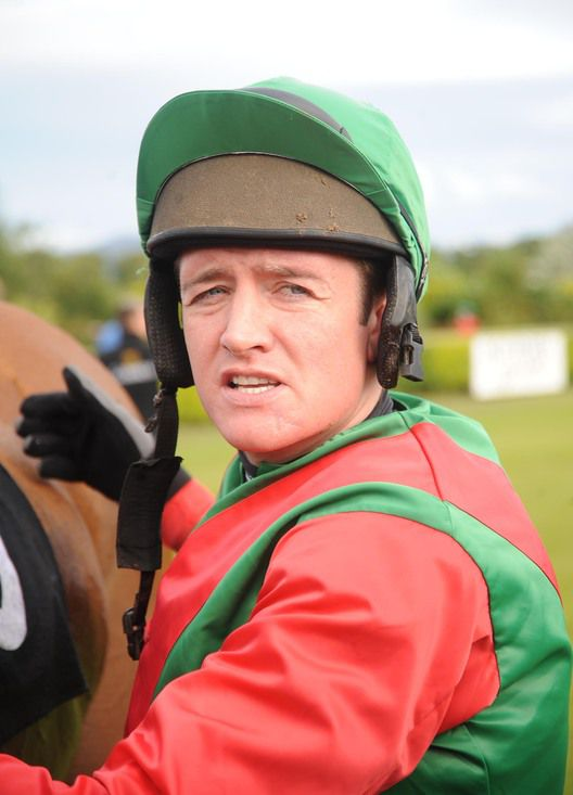 Barry Geraghty on Long Walk duty