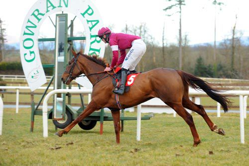 First Lieutenant in action at Gowran