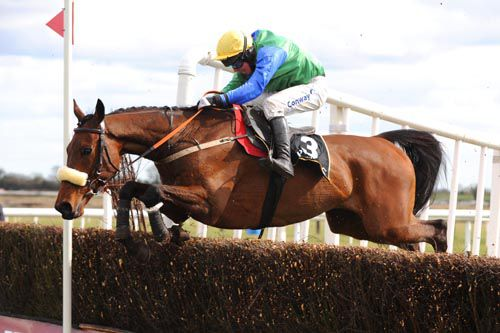 Jadanli winning the 2010 Powers Gold Cup at Fairyhouse