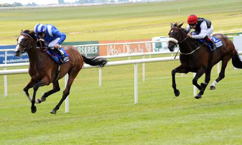 Tactic wins the 2010 At The Races Curragh Cup