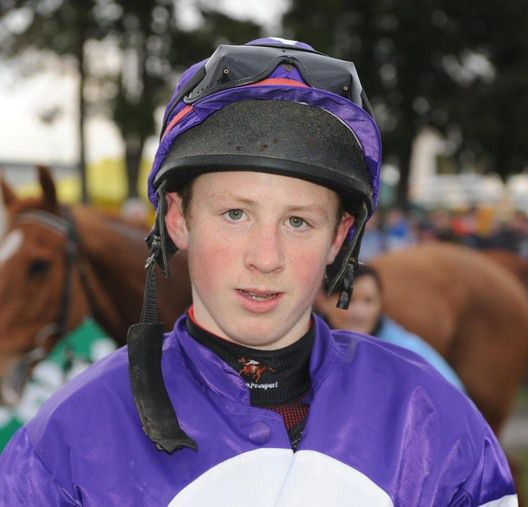 Conor O'Farrell rides at Wincanton today