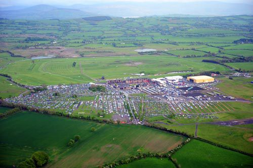 Aerial view of Punchestown