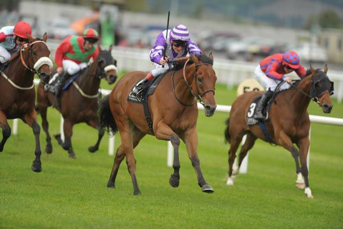 Eton Rifles seen here winning at the Curragh
