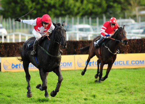 Joncol (left) in action at Thurles