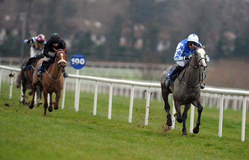 Pique Sous seen here winning at Leopardstown under Patrick Mullins