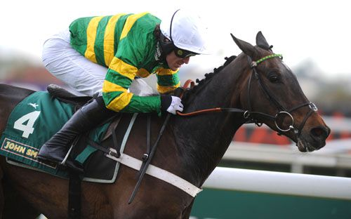 Darlan pictured on his way to victory at Aintree last year