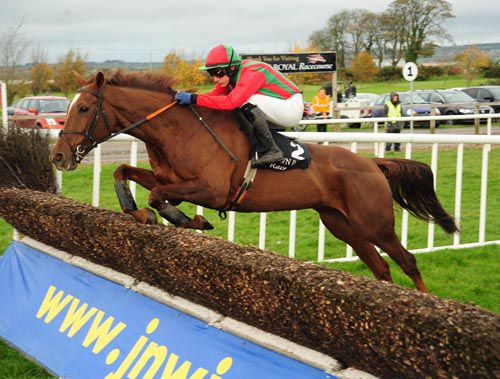 Benefficient in action at Down Royal