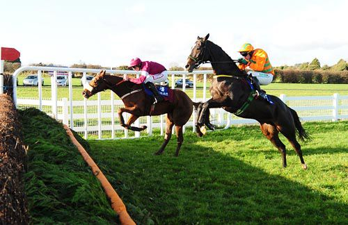 Texas Jack (nearside) and Make A Track