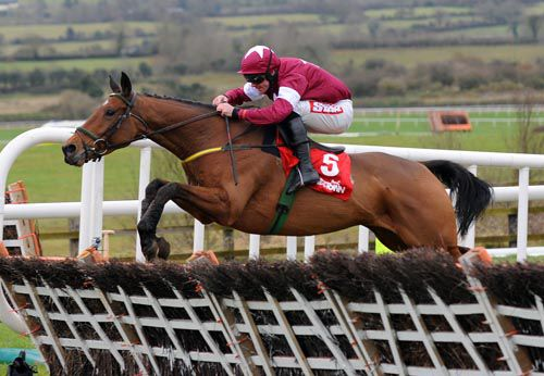 Road To Riches in action at Punchestown
