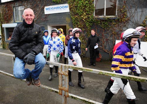 Ken Whelan sits on the fence as riders go out for division one of the race named in his honour at Thurles