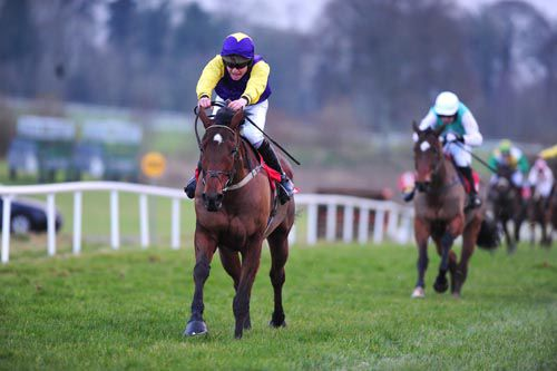 Kick On Boss looked a lovely type when accounting for Super Mix at Gowran