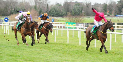Monksland wins at Leopardstown at Christmas