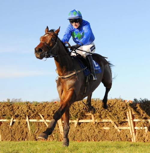 Ruby Walsh & Hurricane Fly on their way to victory