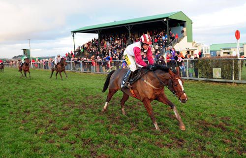 Golden Plan is well clear at Tramore in the last race of 2012