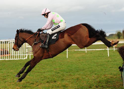Mikael D'Haguenet and Ruby Walsh fly home at Thurles