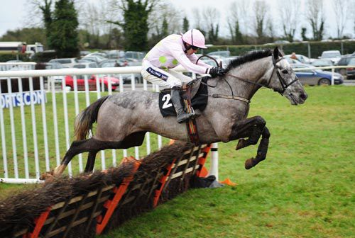 Ballycasey and Ruby Walsh on their way to victory at Thurles