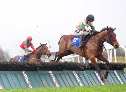 The Paparrazi Kid (Ruby Walsh) clears the last
