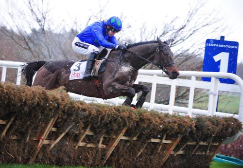 Hurricane Fly and Ruby Walsh are clear over the last