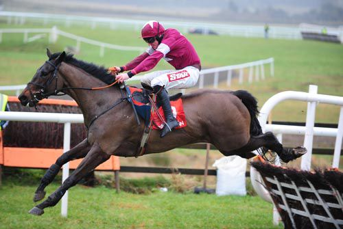 Born In Fire and Davy Russell clear the last