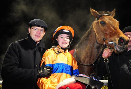 Aidan and Ana O'Brien after a previous win