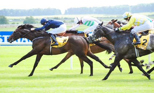 Count Of Limonade is driven out to score by Joseph O'Brien