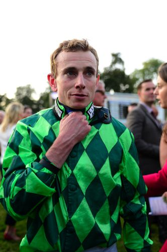 Ryan Moore rides at Dundalk