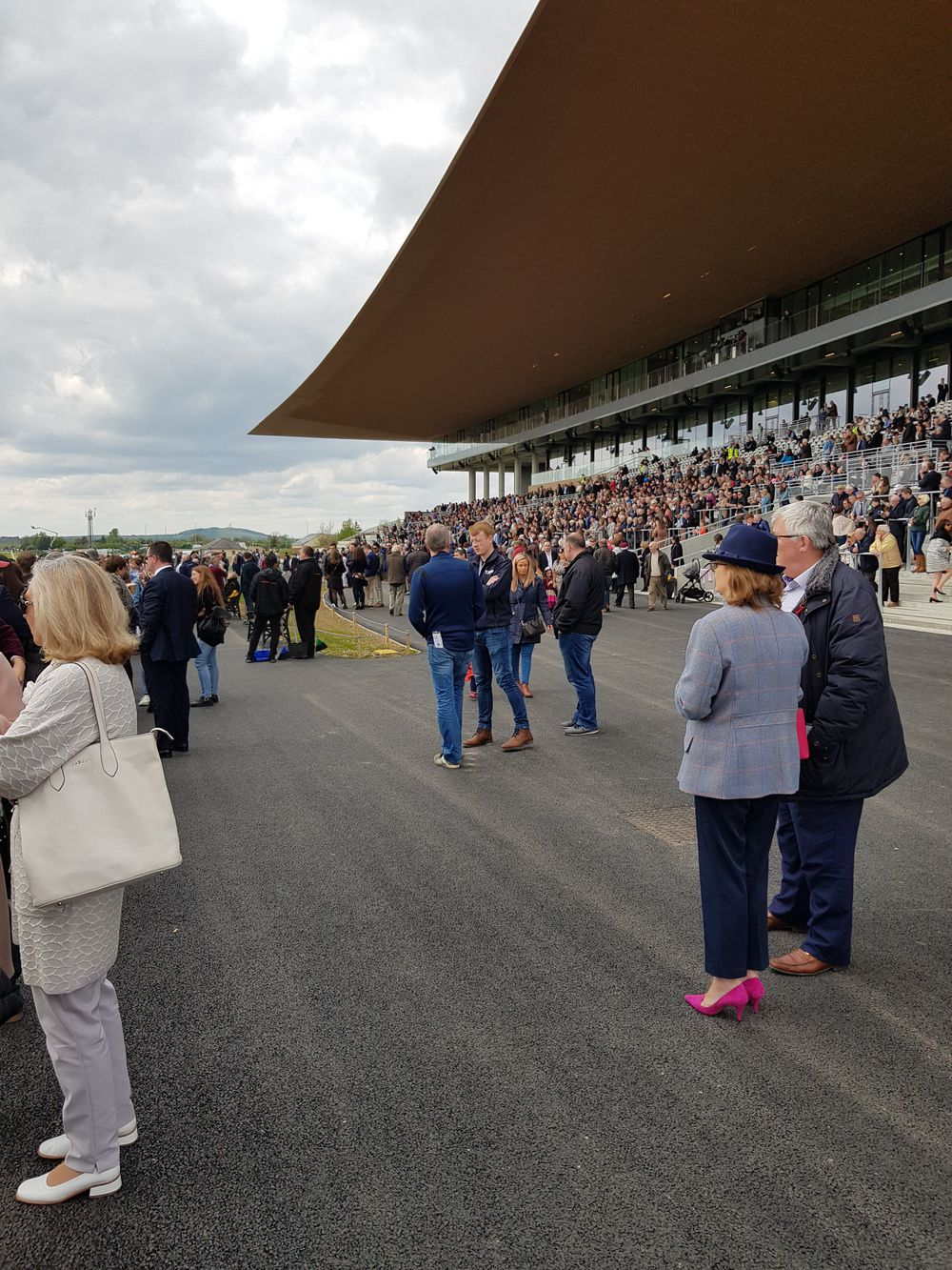 The opening Curragh meeting of the season on Sunday the